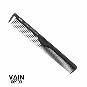 VAIN - Salon Professional Hairdressing Carbon Anti static Cutting Comb - 06900