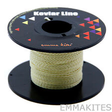 US STOCK 100ft 150lb Braided Kevlar Line String Utility Cord for Fishing Camping