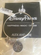 Alex & Ani Mickey's Fun Wheel Bangle Bracelet Silver Disneyland Disney Retired