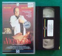 VHS Film Ita Thriller IL VICINO DI CASA rod steiger PRISMA ex nolo no dvd (V105)