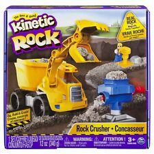 Kinetic Sand Rock Crusher Moule Build It Playset camion benne Rock Crusher Figure