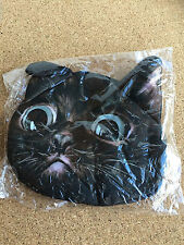 BROWN  or CHOCOLATE CAT HEAD Purse / bag made of material