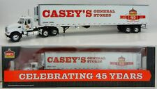 1:64 First Gear *CASEY'S GENERAL STORE* MACK GRANITE SEMI TRUCK w/53' Reefer NIB