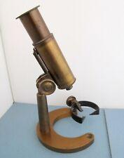 Antique 1918 Brass Herman Haefliger Watchmaker's Document Microscope, Watch Tool