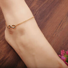 Summer Wild Gold Luck Simple Jewelry Womens Simple Stylish Bow Anklet Chain