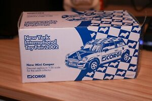 Corgi US86507 BMW Mini Corgi 2002 New York International Toy Fair