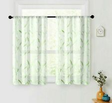 Curtain Tulle Window Sheer Kitchen Living Room Bedroom Curtains Screening Drapes