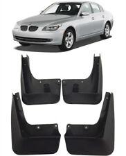 New OEM Set Splash Guards Mud Guards Flaps FOR 2006-2010 BMW 5 Series Sedan E60