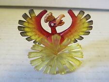 "Authentic W1 Pokemon Clear Figure 1.5"" Ho-oh Catch Them All Nintendo Tomy"