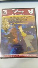 EL PLANETA DEL TESORO LAS TESORO REGATAS MINI JUEGO PC ESPAÑOL CD-ROM DISNEY