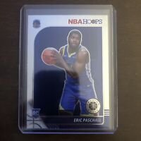 2019-20 NBA Hoops Premium Stock Eric Paschall RC Rookie Variation #230 Warriors