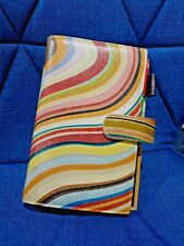 PAUL SMITH LEATHER ORGANIZER PLANNER Swirl Swirly Preowned Great condition