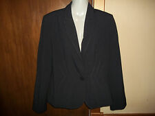 womans smart grey blazer style jacket from marks&spencer size 12 in V Good Cond