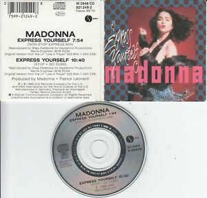 Madonna  CD-SINGLE  Express Yourself   ( 3inch )
