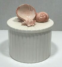 Vintage Fitz & Floyd 1976 Japan Seashell theme Trinket Dish