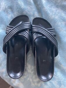 Size 7 Sandals Mules Leather River Island
