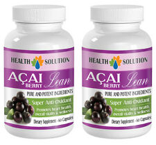 Pure ACAI Berry -  Super Anti-Oxidant w/Green Tea Extract (2 Bottles)