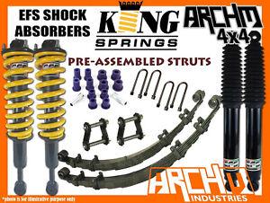 "MAZDA BT50 2011-20 EFS SHOCKS ARCHM KING SPRINGS 2"" 40mm F&R SUSPENSION LIFT KIT"