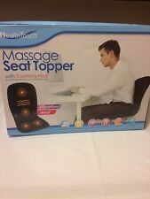 Health Touch Massage Seat Toppeer/Soothing Heat Vibration Heat
