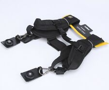 CADEN Double strap for two cameras. Photography shoulder sling.