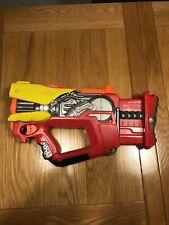 MEGA RARE NERF N-STRIKE FIREFLY REV-8 BLASTER -  Iron Man MARVEL