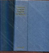 LONGMAN CONCISE ENGLISH DICTIONARY dizionario lingua inglese 1985