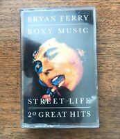 Roxy Music - Street Life - Greatest Hits - Reprise -1989 - cassette