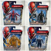 Marvel Spider Man Far From Home Action Figure Set of 4 Hasbro New