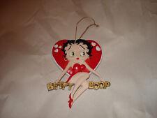 Betty Boop Kfs/Fs/Tm Hearst in Red Dress Heart Christmas Ornament New 1998
