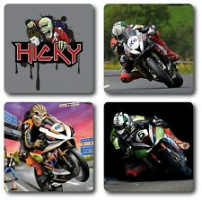 Peter (Hicky) Hickman (motogp, Superbikes) 4 Piece Coaster Set