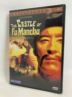 The Castle of Fu Manchu rare US DVD Blue Underground Jess Franco Christopher Lee
