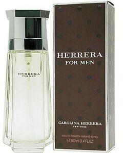 Herrera for Men Cologne Perfume by Carolina Herrera EDT Spray 3.4 6.7 oz In Box