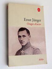 Ernst Jünger - Orages d'acier, traduction Henri Plard