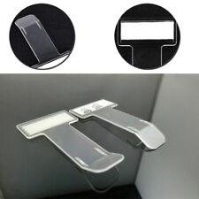 Automóvil Vehículo permiso de recibo de boleto de estacionamiento tarjeta portador de la etiqueta engomada del parabrisas Clip