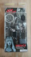 Sin City Nancy action figure 2005 black and white unopened with accessories NECA