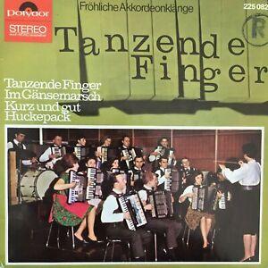 AKKORDEON-ORCHESTER QUINTENZ / RUDOLF WÜRTHNER: Tanzende Finger (EP Polydor/NM)