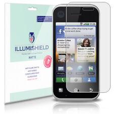 iLLumiShield Matte Screen Protector w Anti-Glare/Print 3x for Motorola BACKFLIP