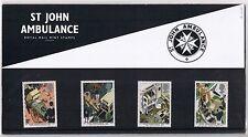 GB Presentation Pack 181 1987 St John Ambulance