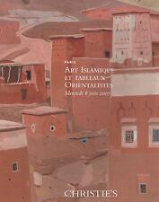 CHRISITE'S Peinture Orientaliste ISLAMIC ART textile Copte Ceramique H. Rousseau