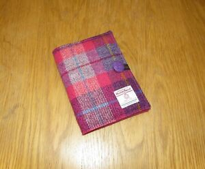 Handmade Harris Tweed A5 Re-usable Diary Cover incl 2021 Diary - Christmas Gift