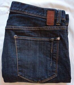 Perry Ellis America Men's Slim-Fit Denim Jeans Size  W35 L30 Colour Dark Blue