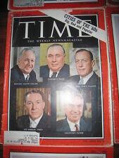 VINTAGE 1961-1962-1963 TIME MAGAZINE