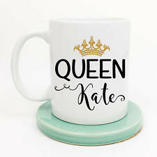 Queen Personalized Coffee Mug With