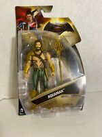 Batman v Superman Dawn of Justice Aquaman Trident Action Figure Sealed DC Comics