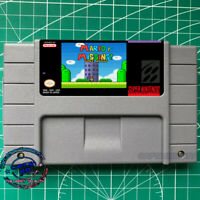 New  Mario is Missing! Done Right  Super Mario SNES Video Game USA version