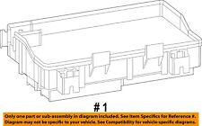 Ram CHRYSLER OEM 15-16 3500 6.7L-L6-Fuse Box-Fuse & Relay Box 68243265AD