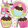 Friandises Gamme de Fête D'Anniversaire - Cupcakes Vaisselle Ballons &