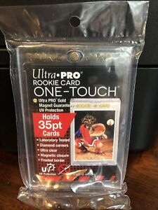 Ultra Pro One-Touch Magnetic Card Holder 35pt Point Rookie Card Version