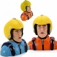 1pc Orange/Blue 1/3 Scale Dummy Bust Pilot Figure Model  For RC Airplane Miracle