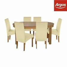 Argos Oval Extending Table & Chair Sets
